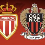 Victory of Monaco against Nice 25th day