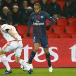 PSG made his comeback before the break