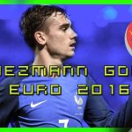 Griezmann, best player of the Euro 2016